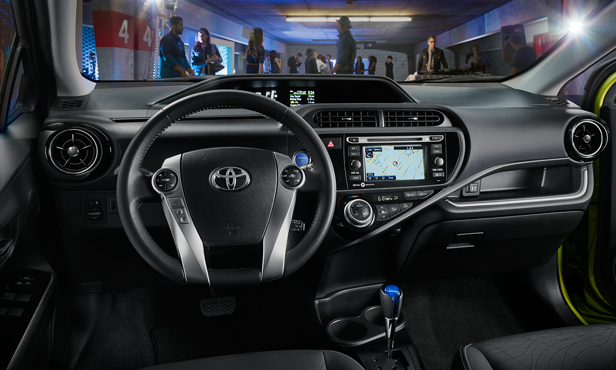 Interior View Of 2016 Toyota Prius c in Sacramento
