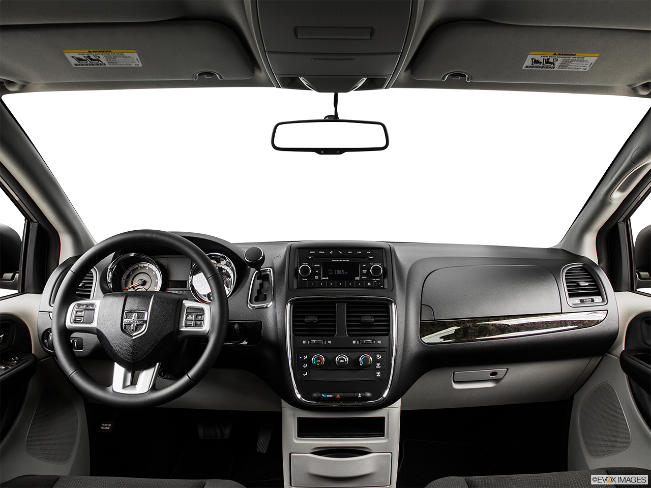 Interior View Of 2015 Dodge Grand Caravan in Huntington Beach