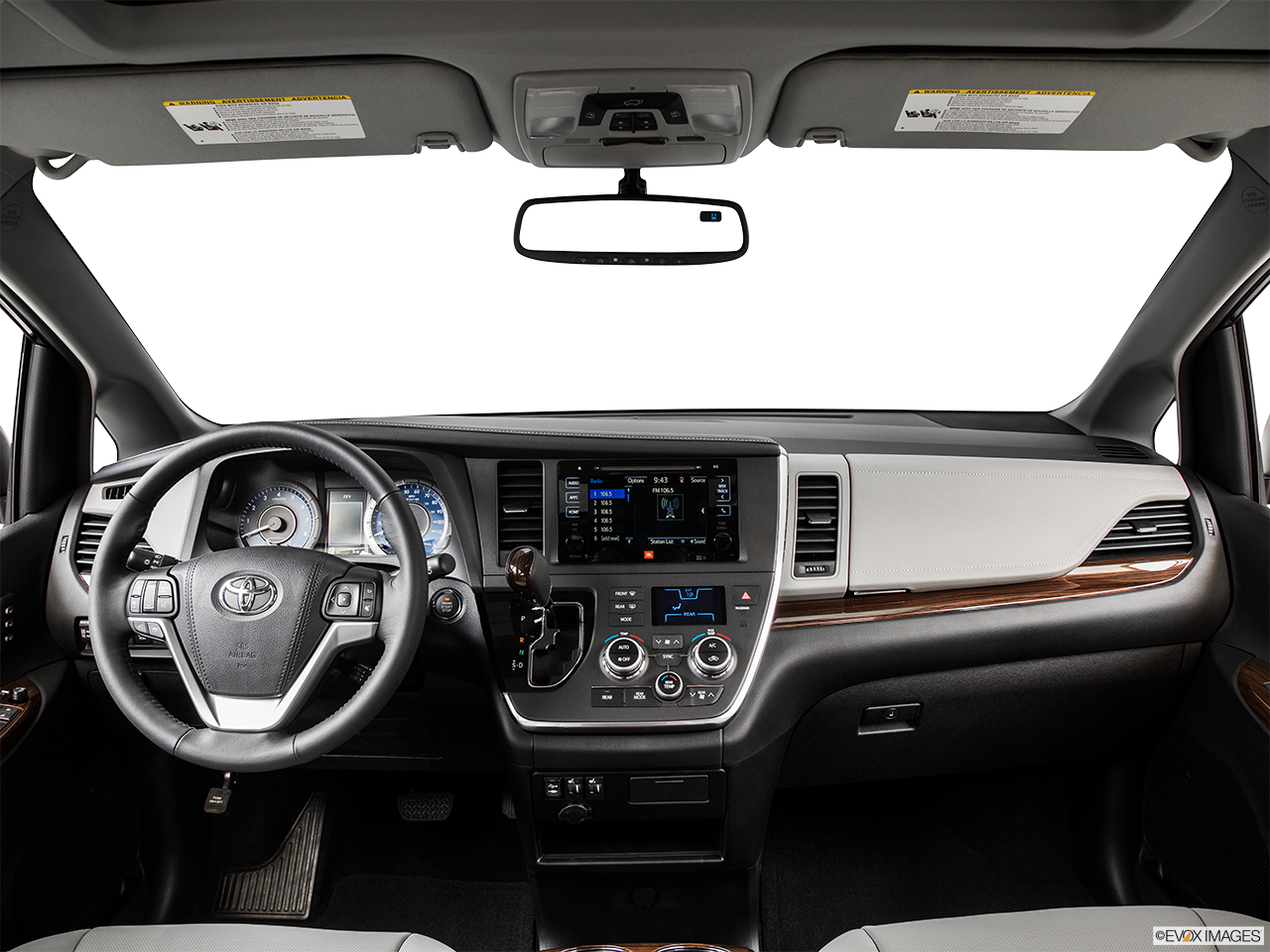 Interior View Of 2015 Toyota Sienna In Hampton Roads