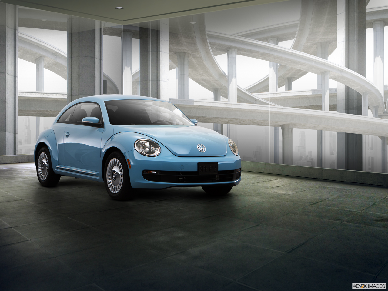 Exterior View Of 2015 Volkswagen Beetle in Franklin