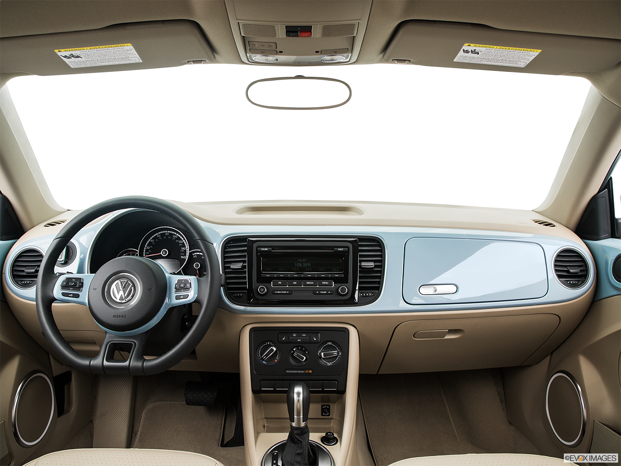 Interior View Of 2015 Volkswagen Beetle in Franklin
