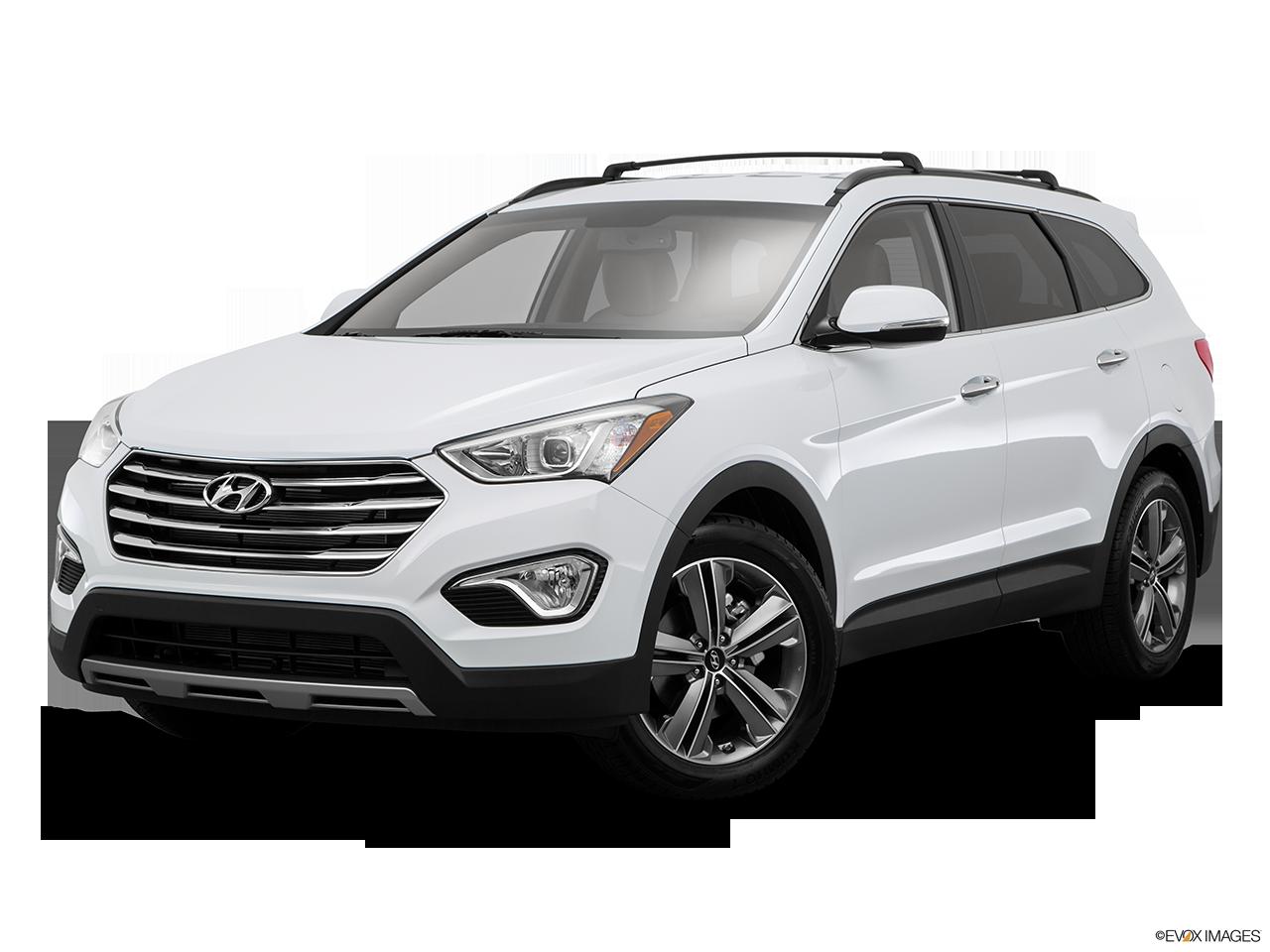Hyundai Santa fe Black Grill a 2015 Hyundai Santa fe at