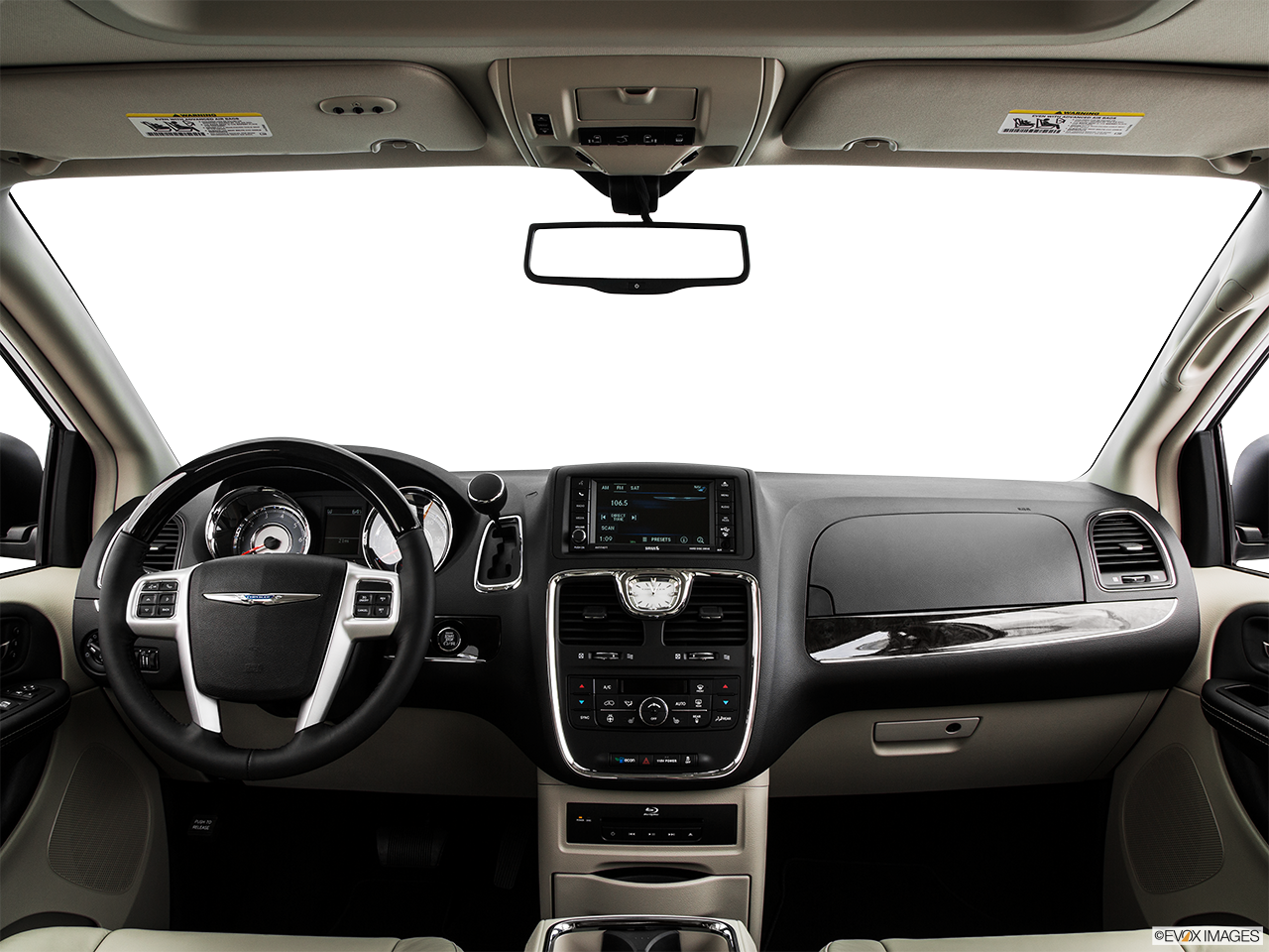 Interior View Of 2015 Chrysler Town And Country In La Mesa