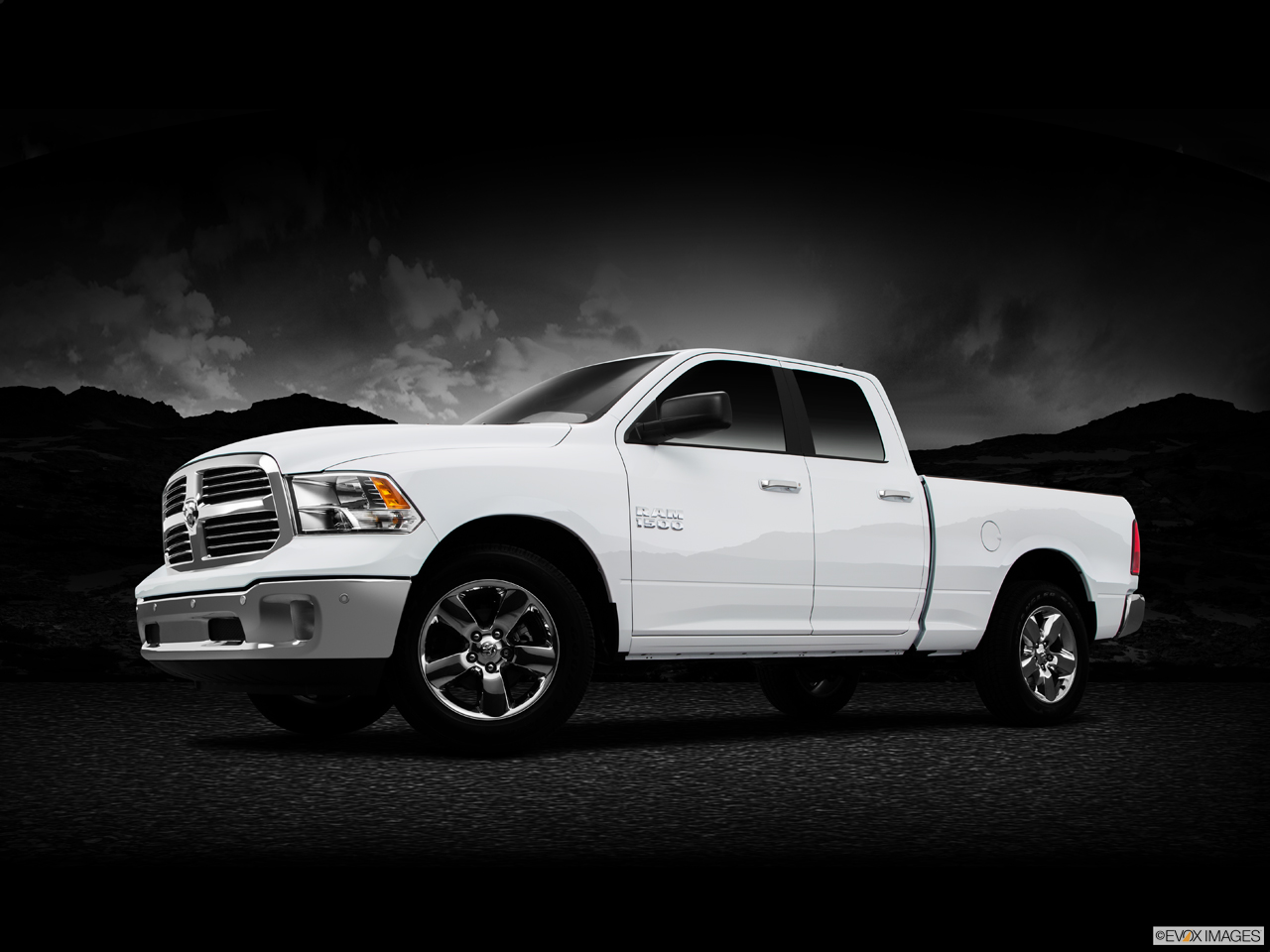 Exterior View Of 2015 RAM 1500 in Huntington Beach
