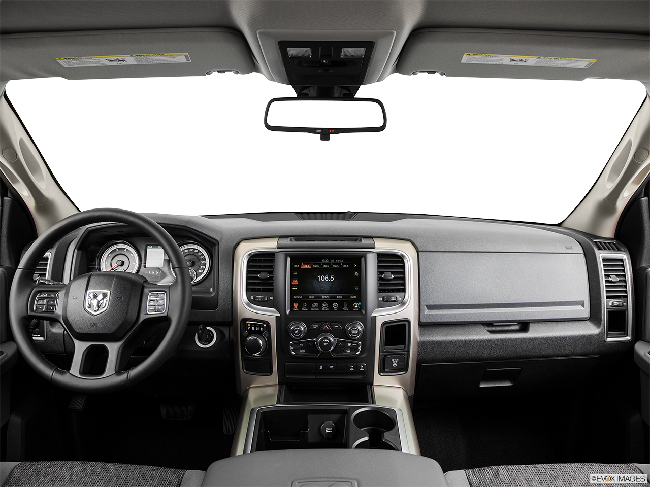 Interior View Of 2015 RAM 1500 in Huntington Beach