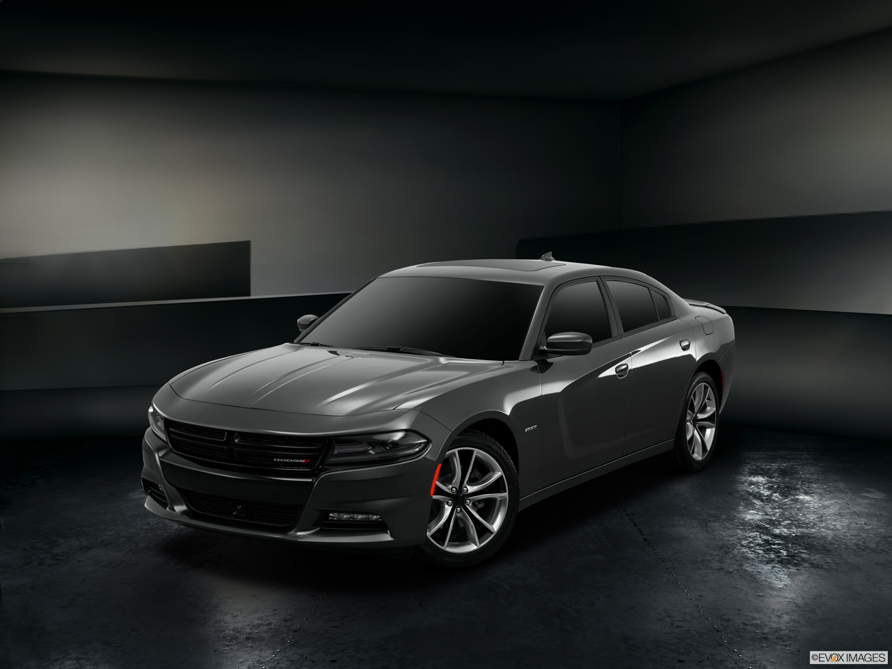 Exterior View Of 2015 Dodge Charger in Huntington Beach