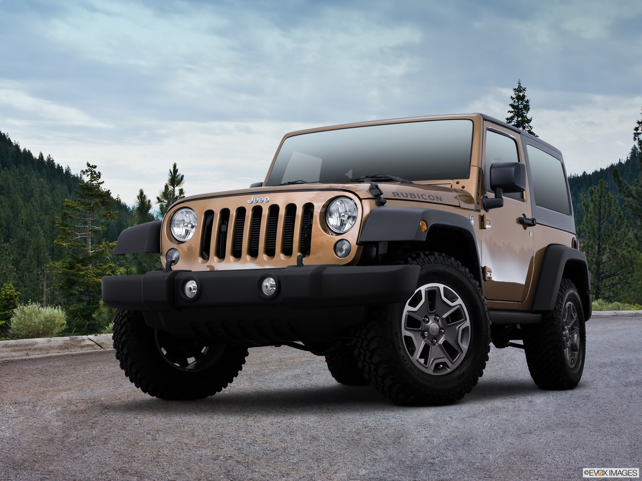 Exterior View Of 2015 Jeep Wrangler in Huntington Beach
