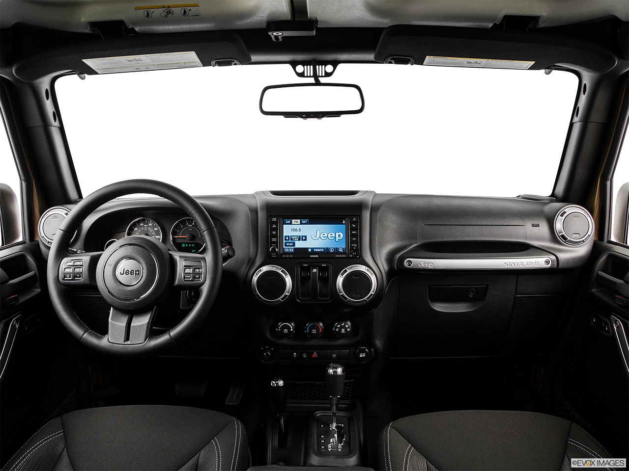Interior View Of 2015 Jeep Wrangler in Huntington Beach
