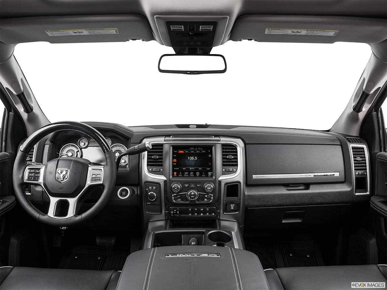Interior View Of 2015 RAM 3500 in Huntington Beach