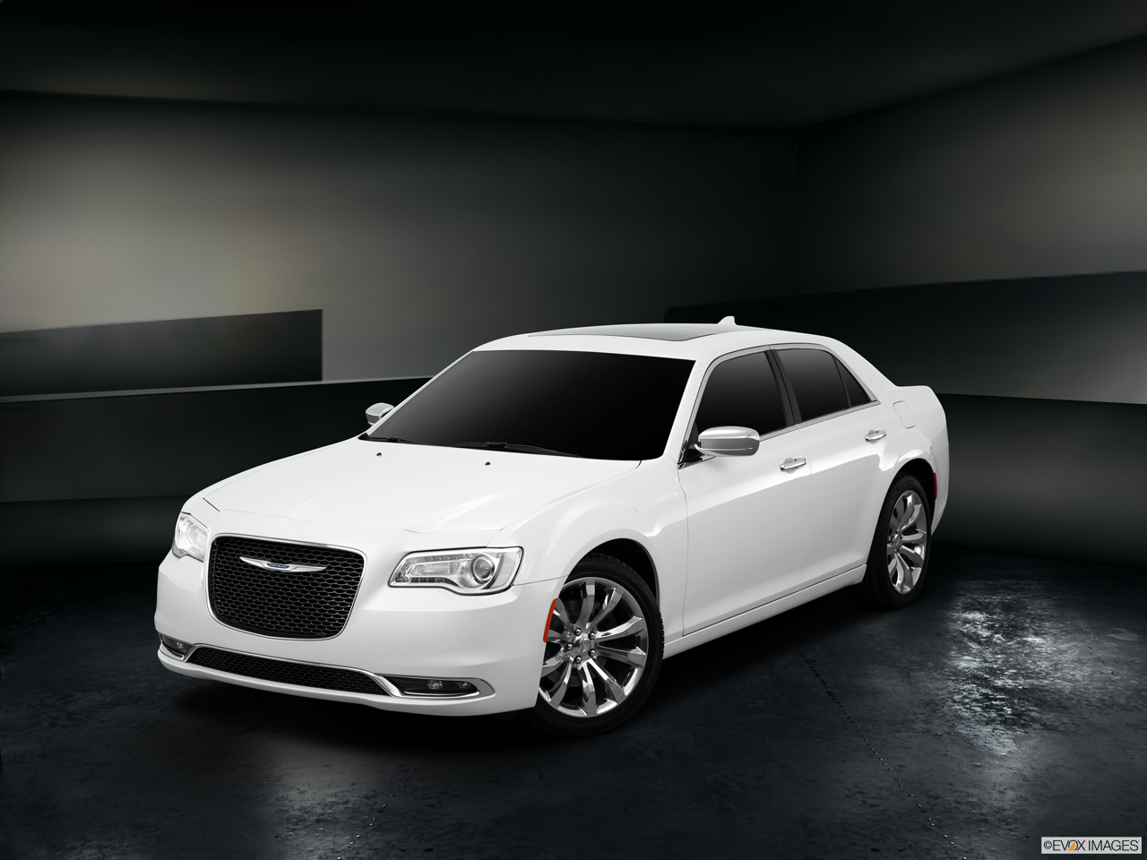 Exterior View Of 2015 Chrysler 300 in Huntington Beach