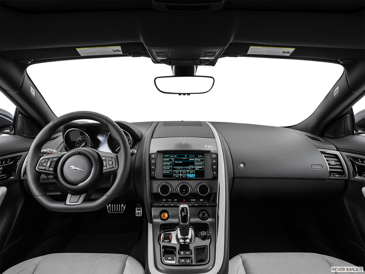 Interior View Of 2016 Jaguar F-Type in Los Angeles