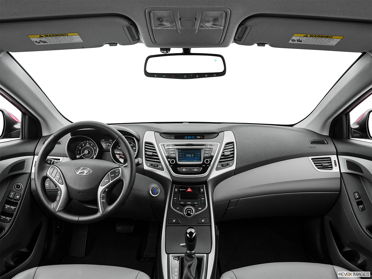 hyundai elantra 2016 black. interior view of 2016 hyundai elantra in tracy black