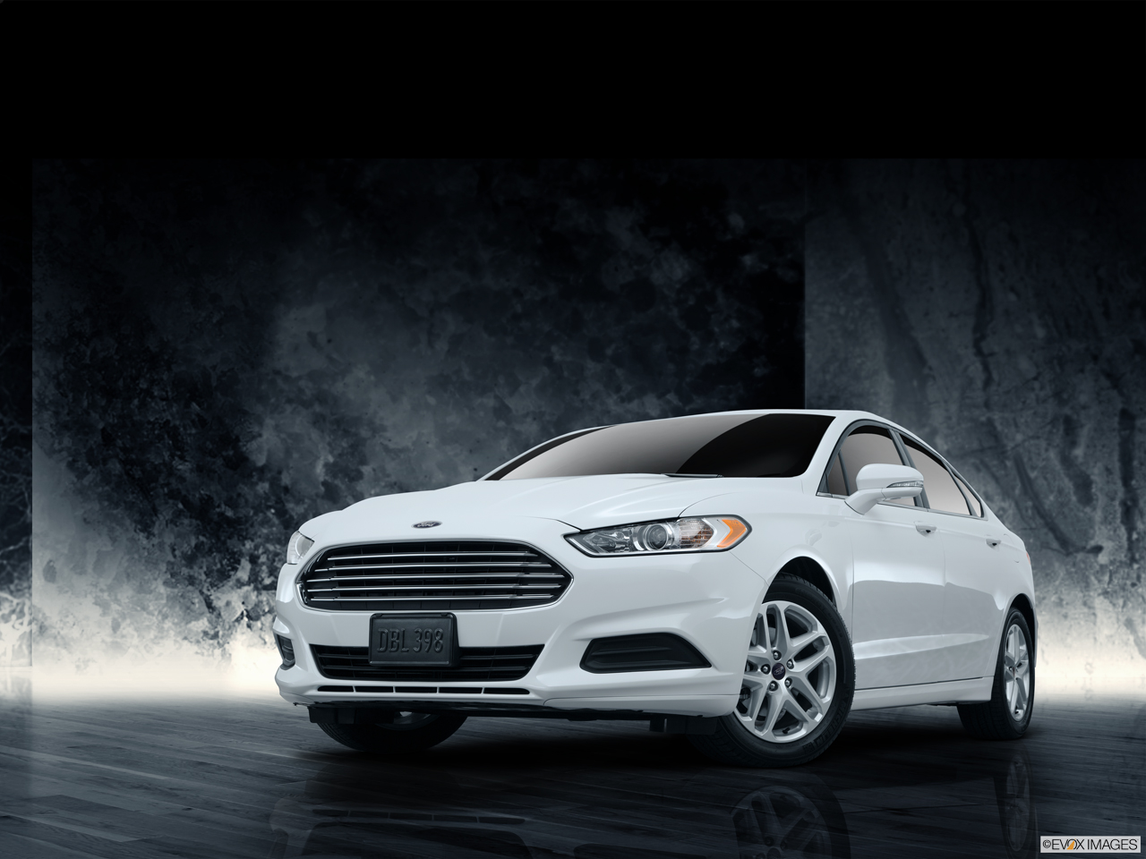 Exterior View Of 2016 Ford Fusion in Franklin