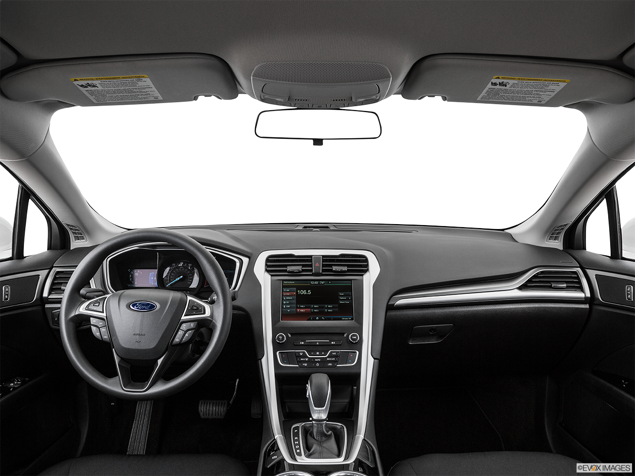Interior View Of 2016 Ford Fusion in Franklin