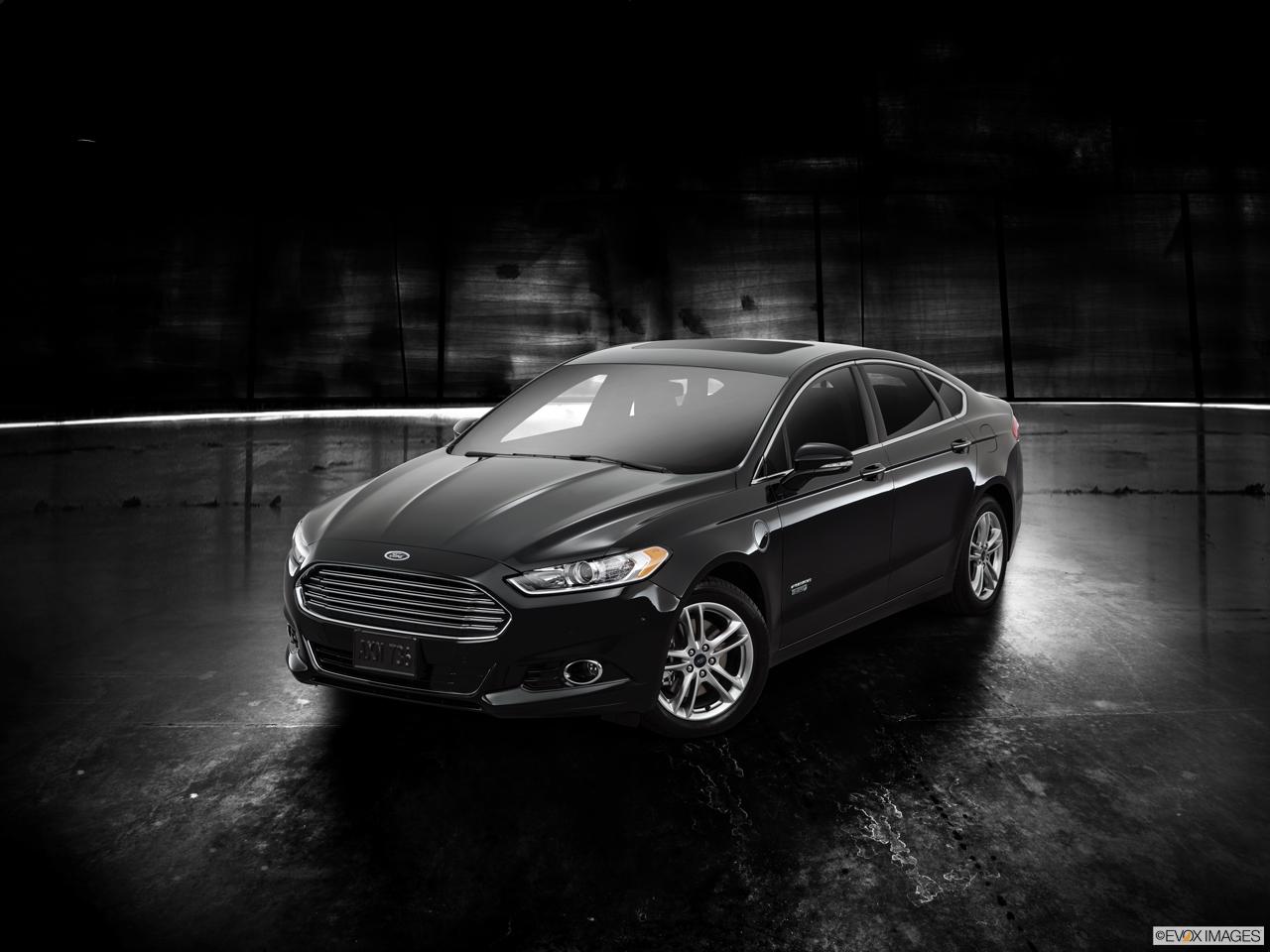 Exterior View Of 2016 Ford Fusion Energi in Franklin