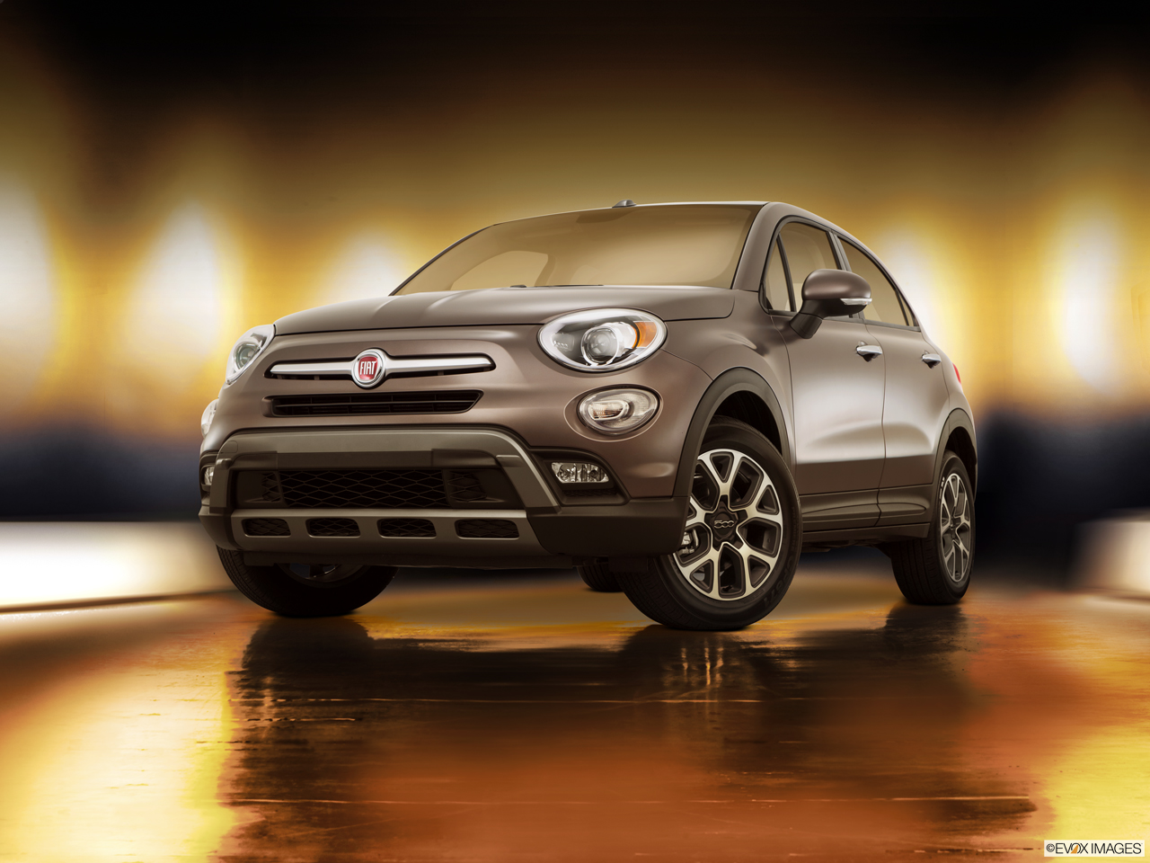 Exterior View Of 2016 Fiat 500X in West Palm Beach