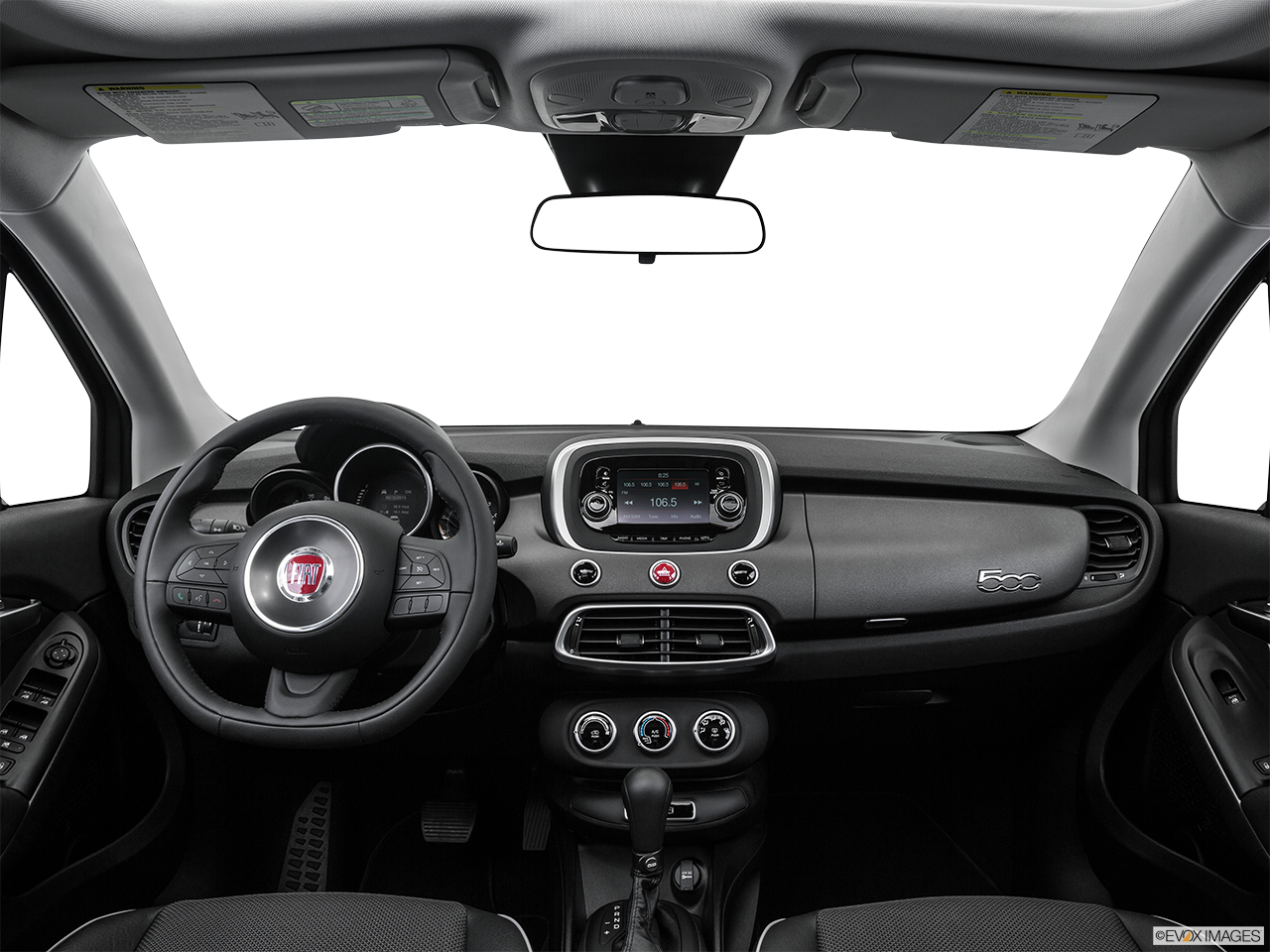 Interior View Of 2016 Fiat 500X in West Palm Beach