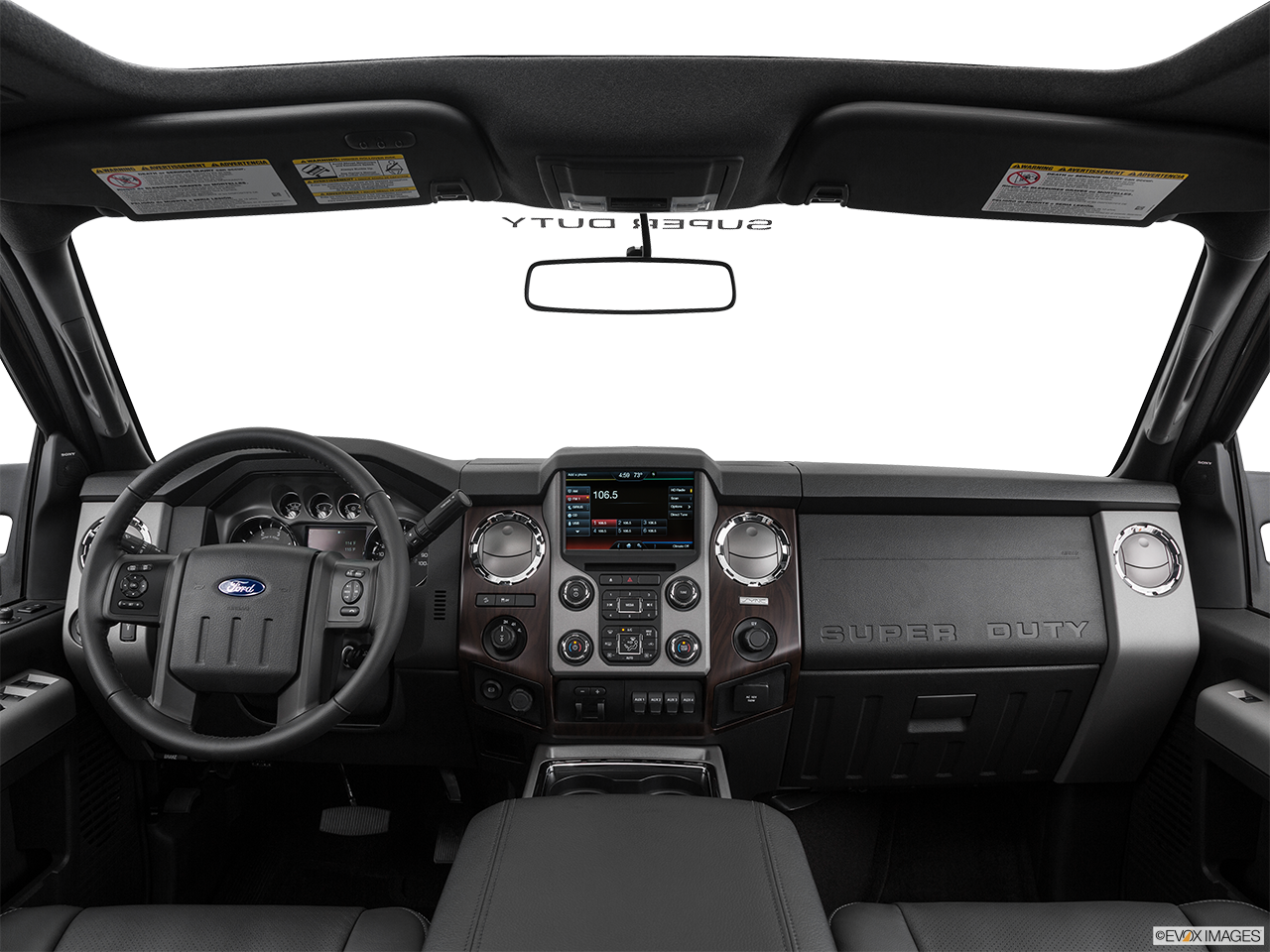 Interior View Of 2016 Ford F-250 SD in Canton