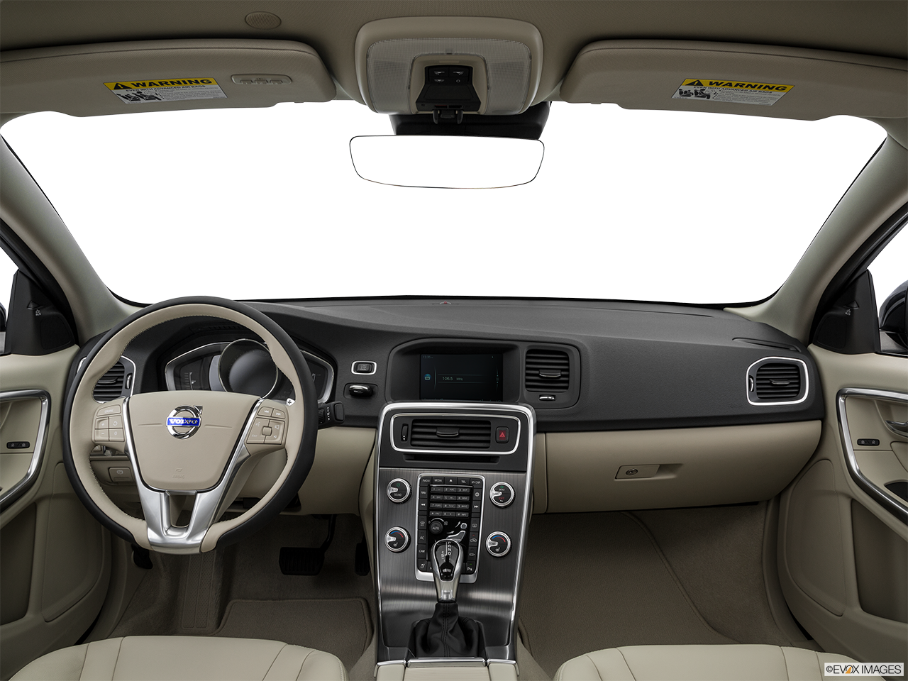 Interior View Of 2016 Volvo S60 in Los Angeles