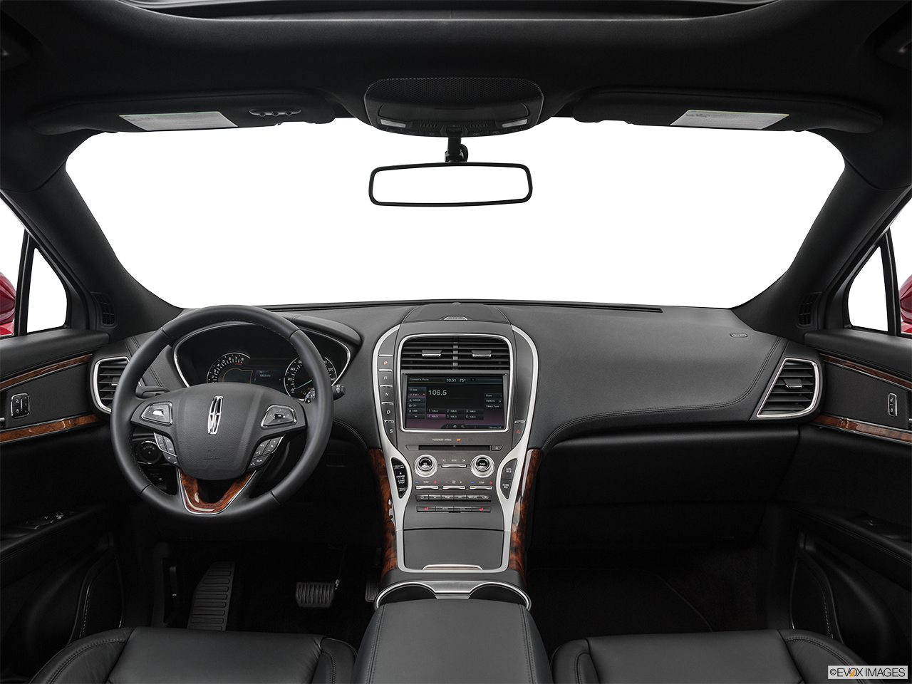 Interior View Of 2016 Lincoln MKZ in Los Angeles
