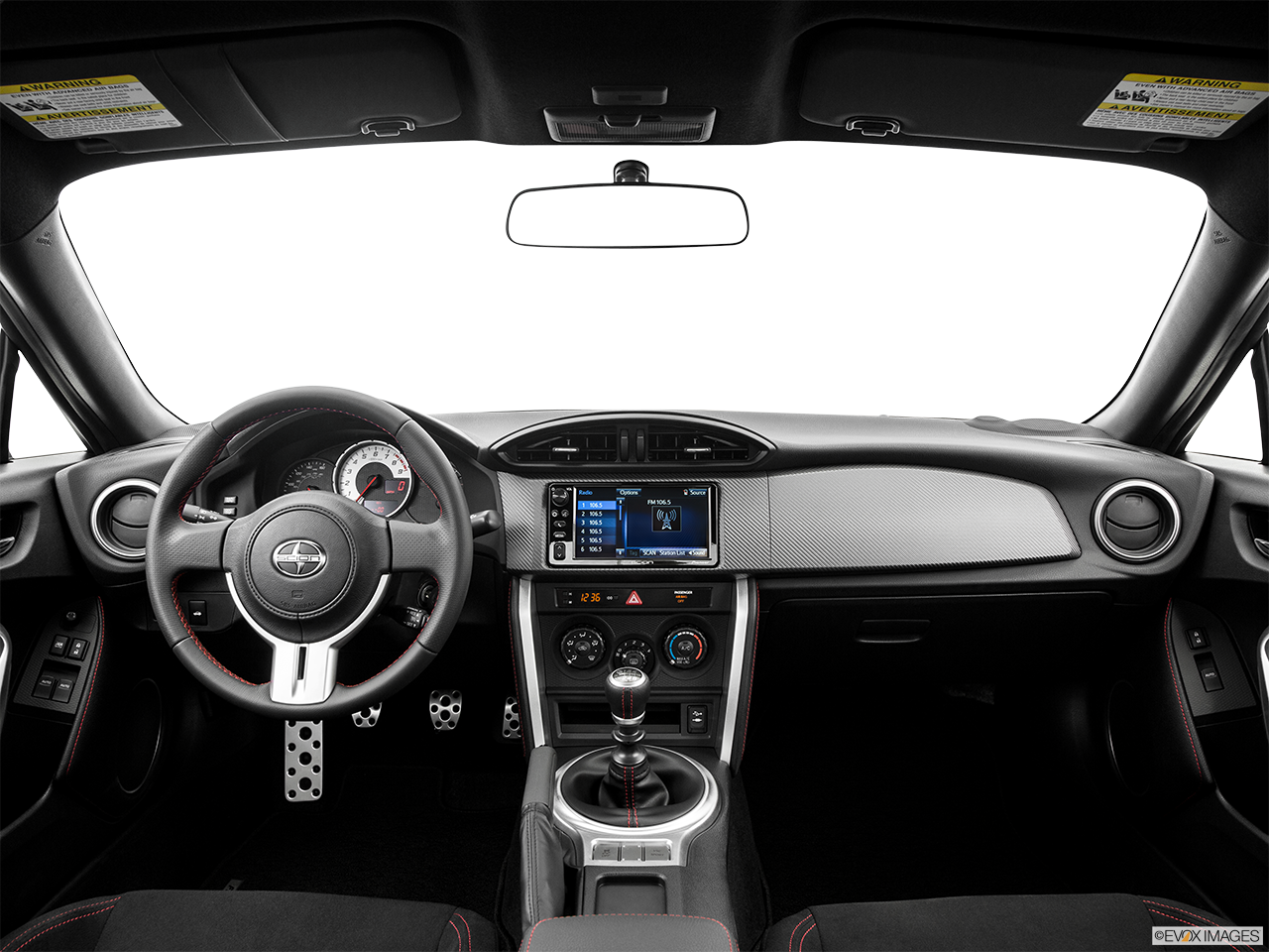 Interior View Of 2016 Scion FR-S Riverside