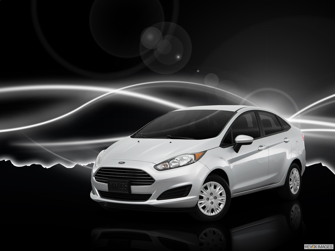 Exterior View Of 2016 Ford Fiesta in Harrisburg