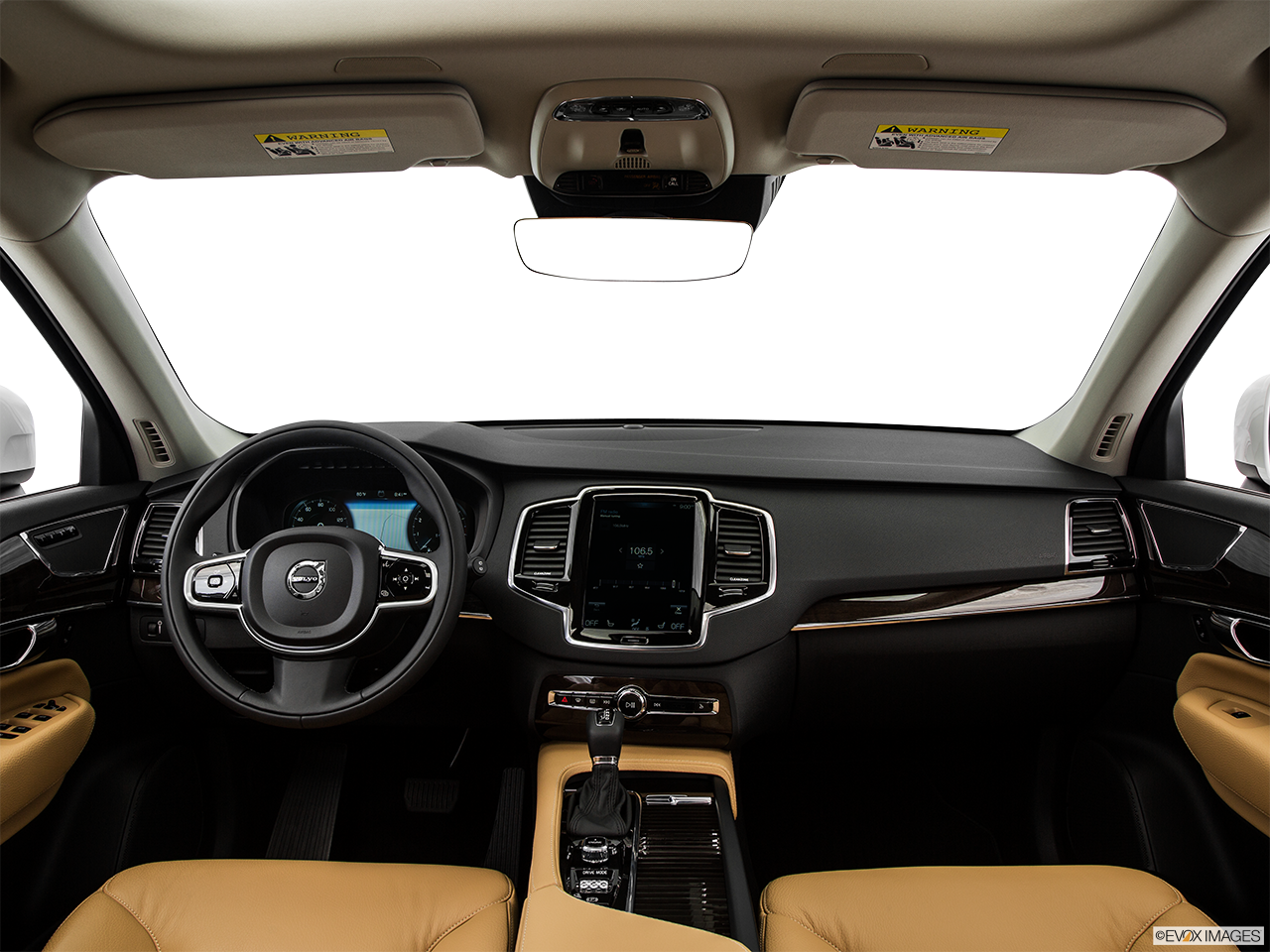 Interior View Of 2016 Volvo XC90 in Los Angeles