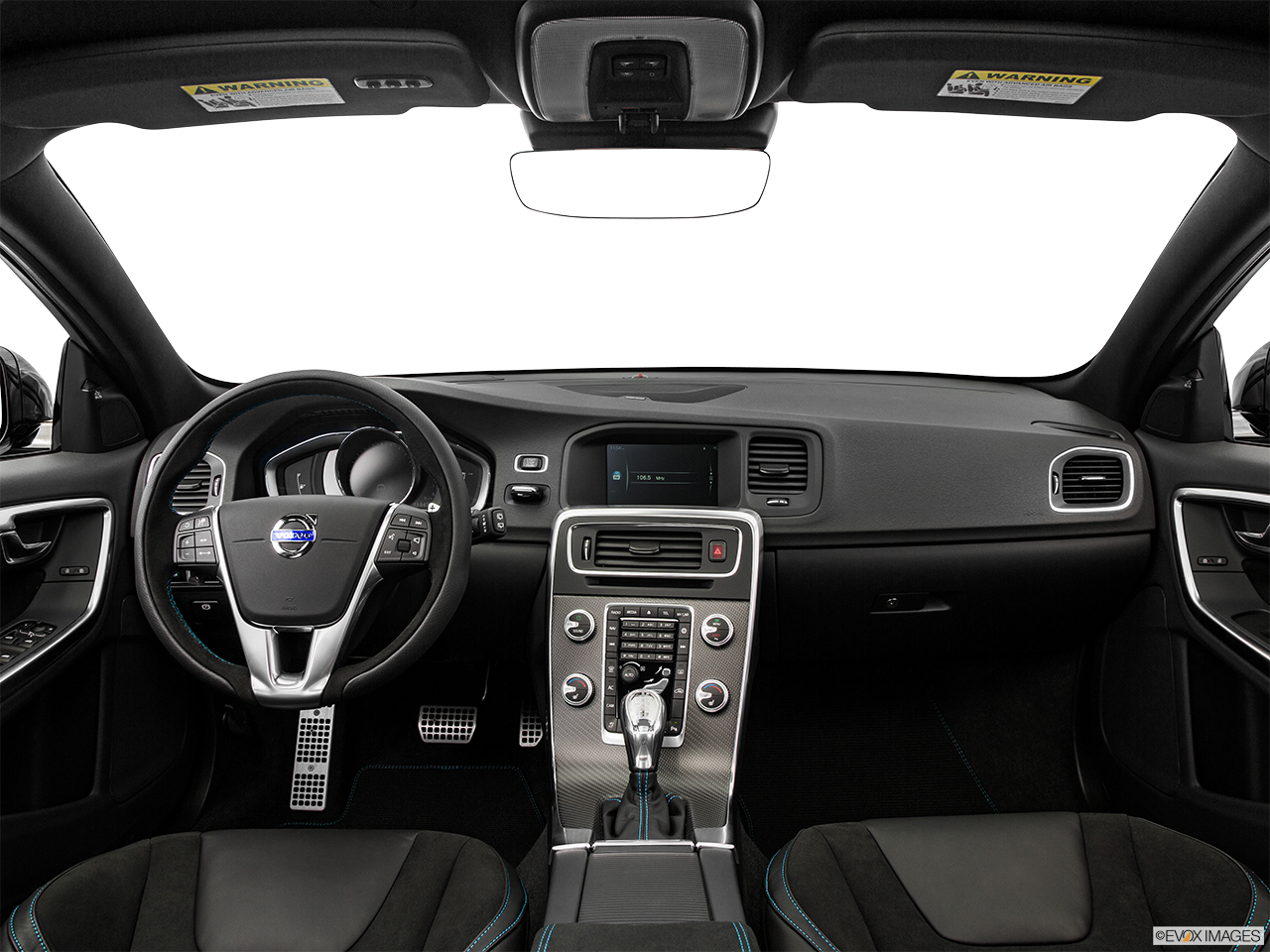 Interior View Of 2016 Volvo V60 in Los Angeles