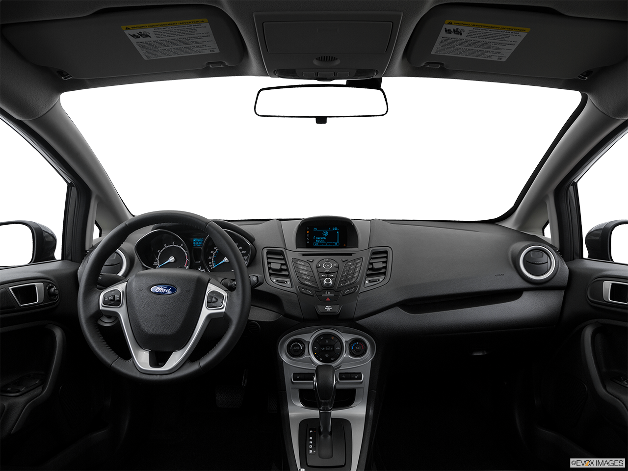Interior View Of 2016 Ford Fiesta in Huntington Beach