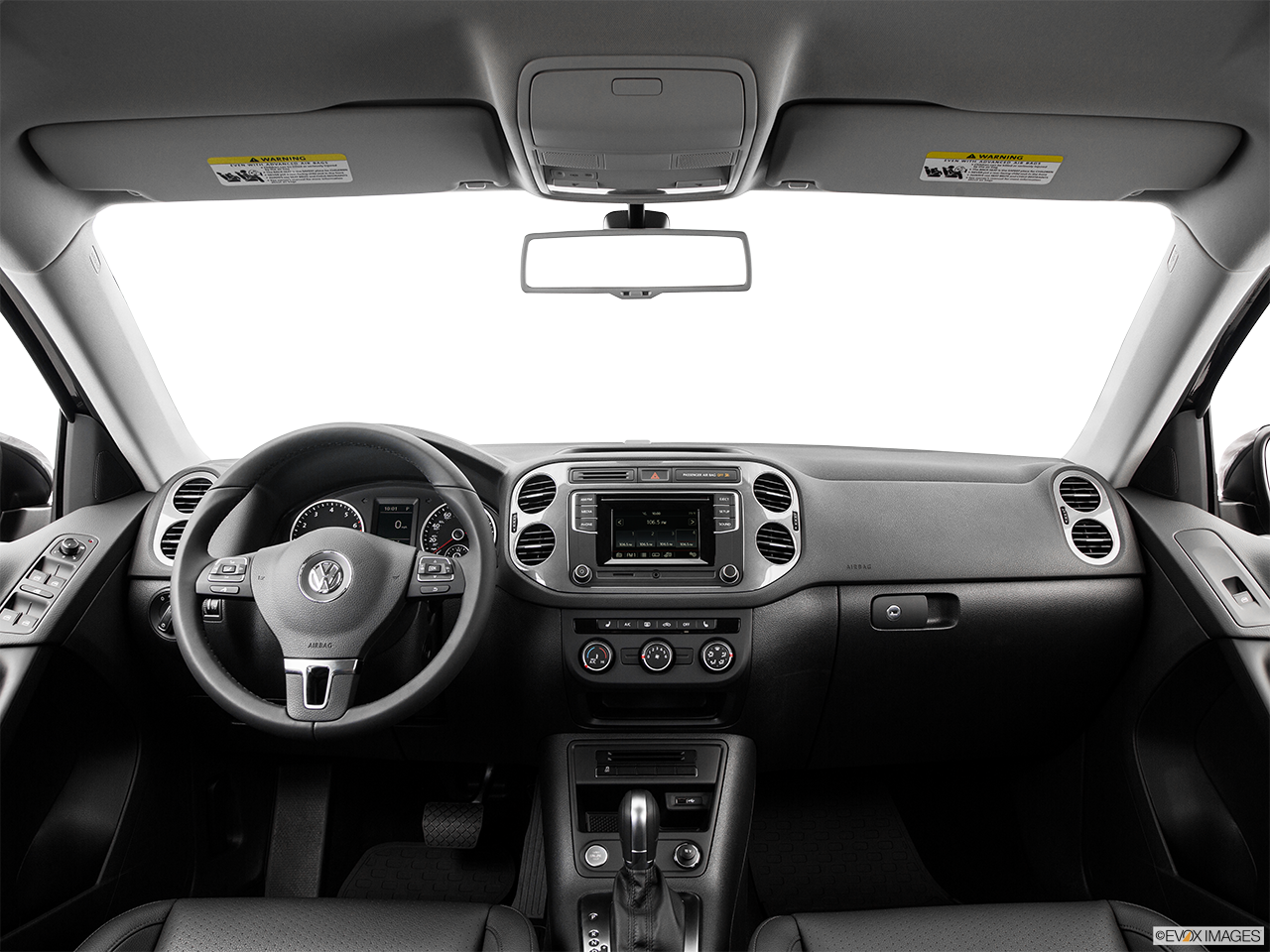 Interior View Of 2016 Volkswagen Tiguanin Los Angeles
