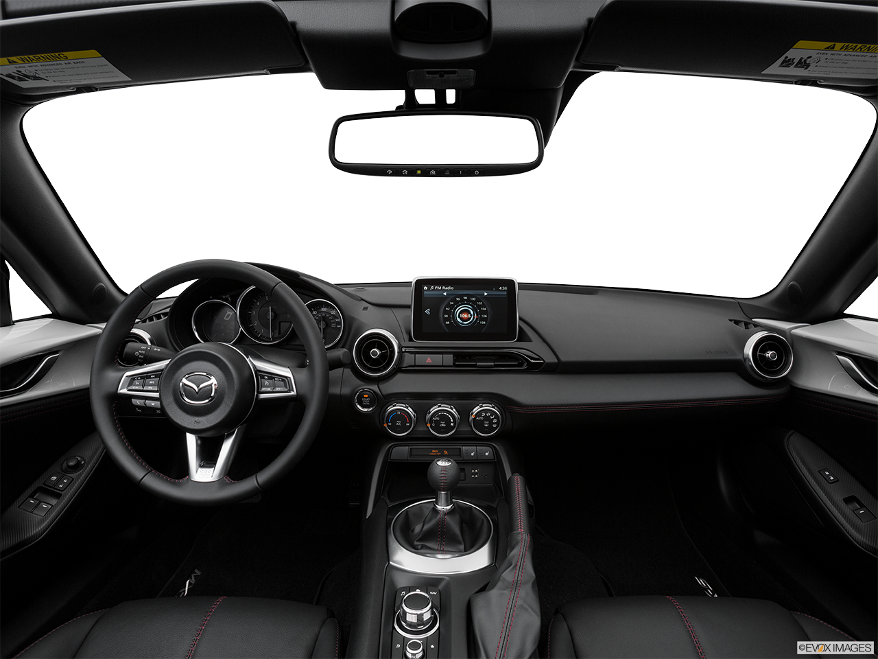 Interior View Of 2016 Mazda MX-5 Miata in Los Angeles