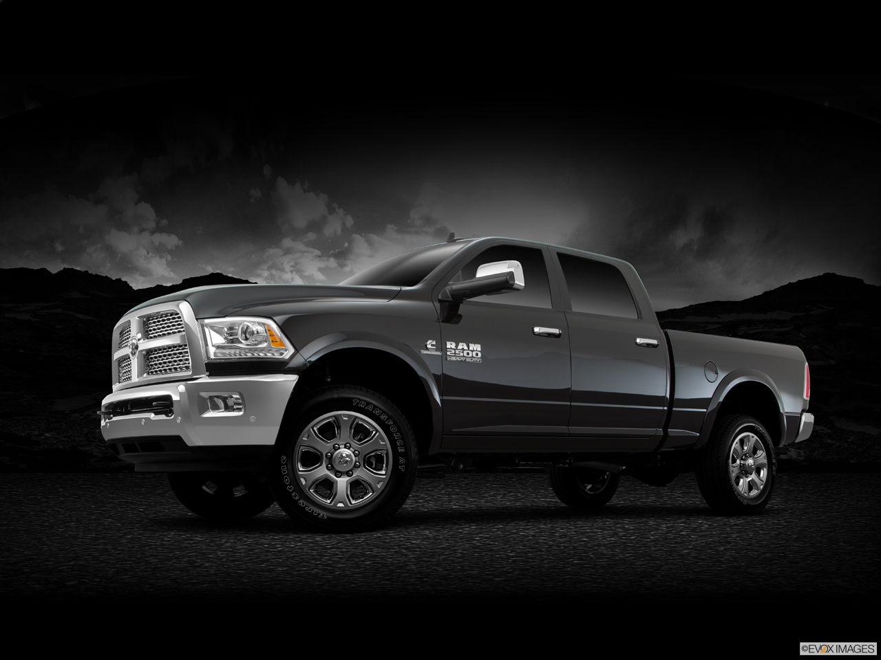 Exterior View Of 2016 RAM 2500 in Riverside