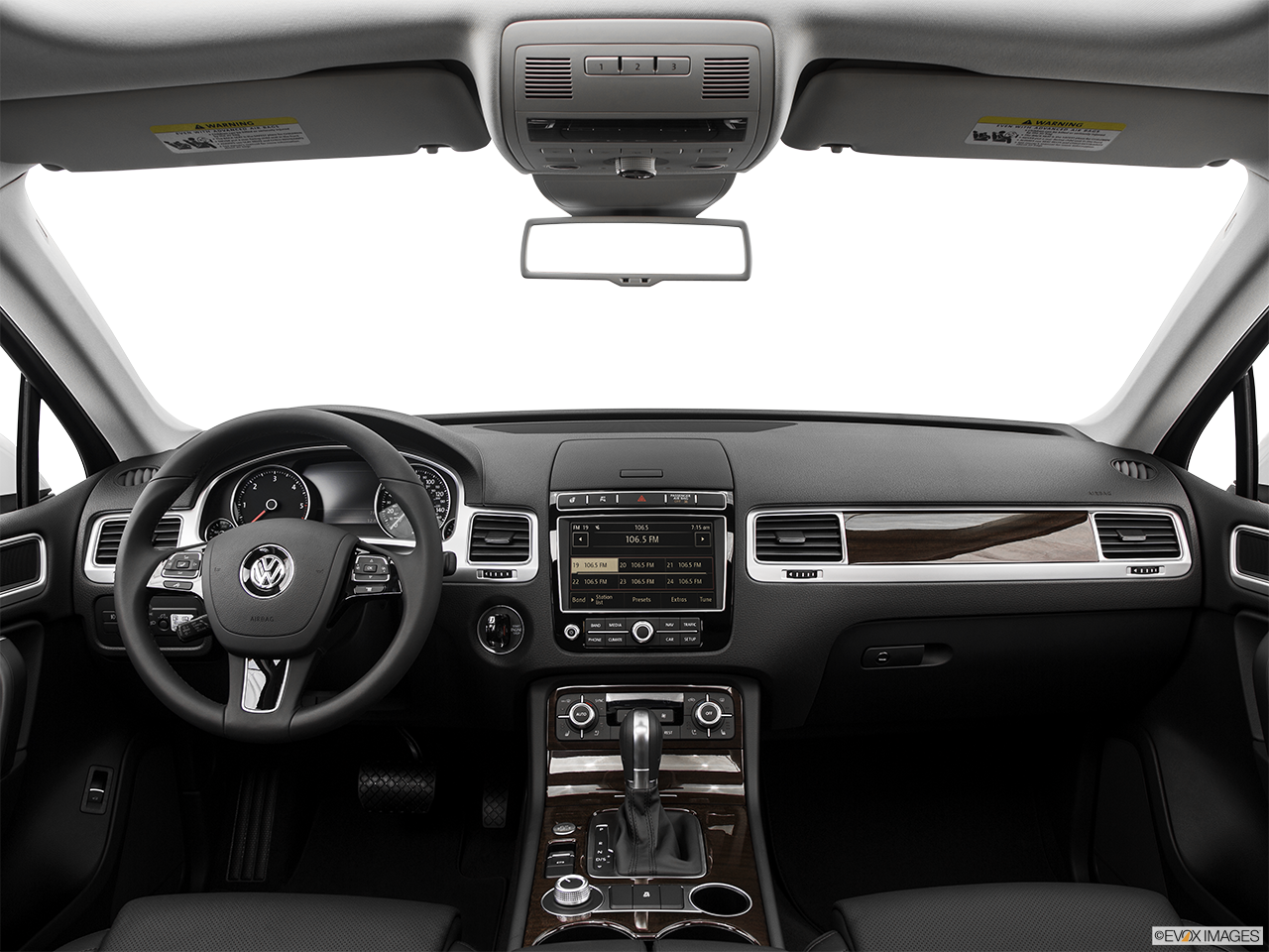 Interior View Of 2017 Volkswagen Touareg Riverside