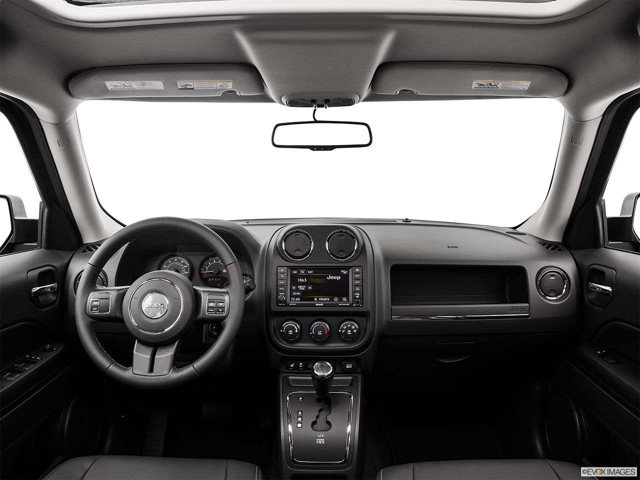 Interior View Of 2016 Jeep Patriot in Tracy