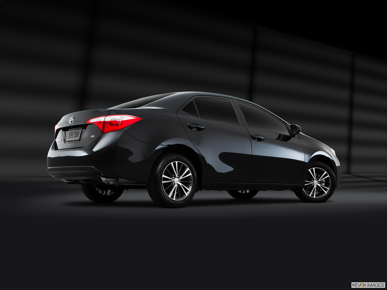 Exterior View Of 2016 Toyota Corolla in Sacramento