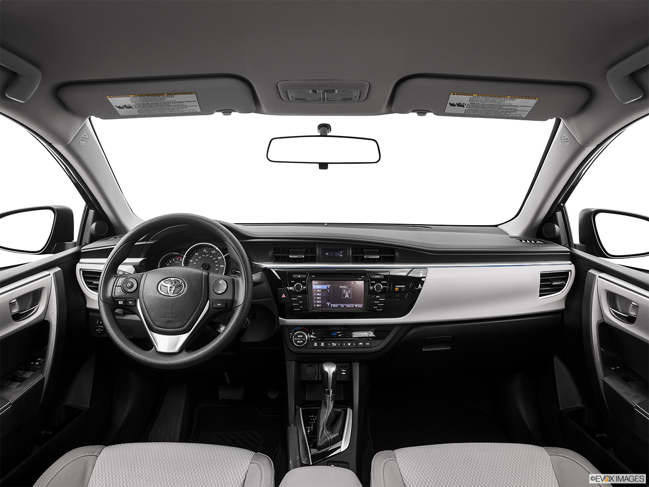 Interior View Of 2016 Toyota Corolla in Sacramento