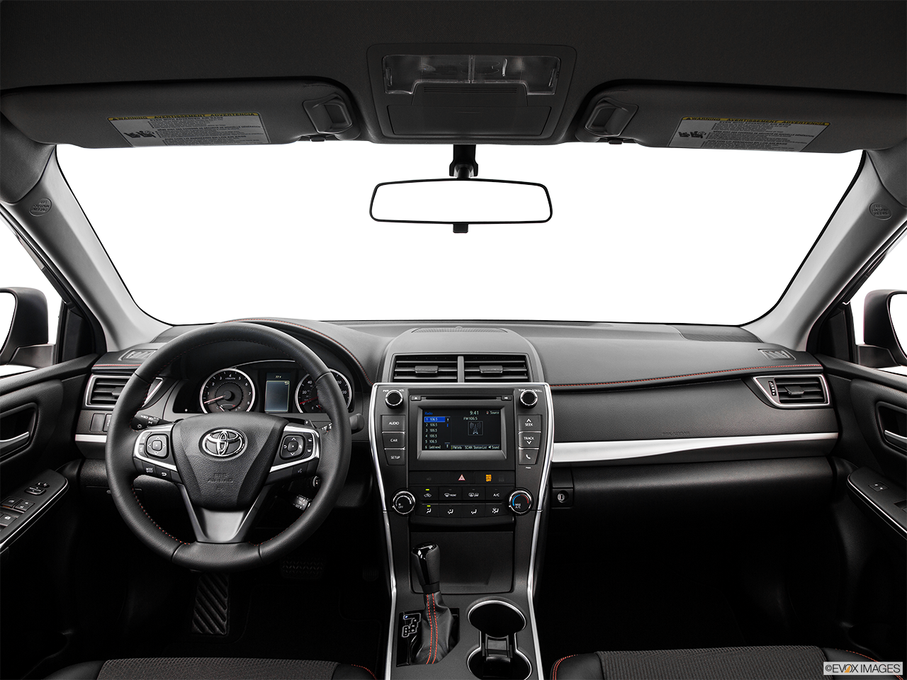 Interior View Of 2017 Toyota Camry Los Angeles
