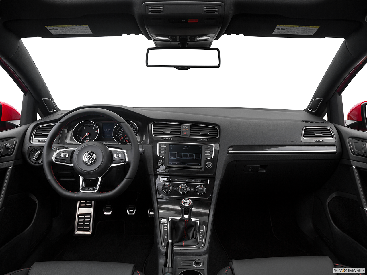 Interior View Of 2016 Volkswagen Golf GTI Riverside
