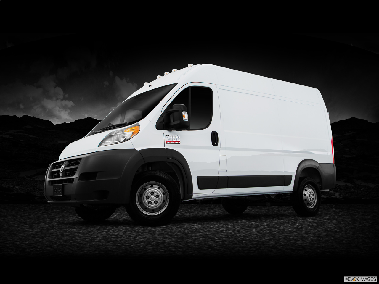 Exterior View Of 2016 RAM ProMaster in Tamarac
