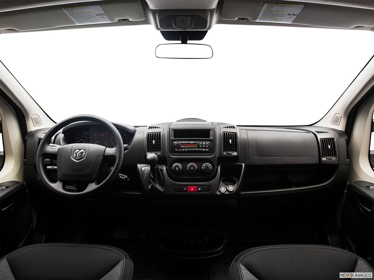 Interior View Of 2016 RAM ProMaster in Tamarac