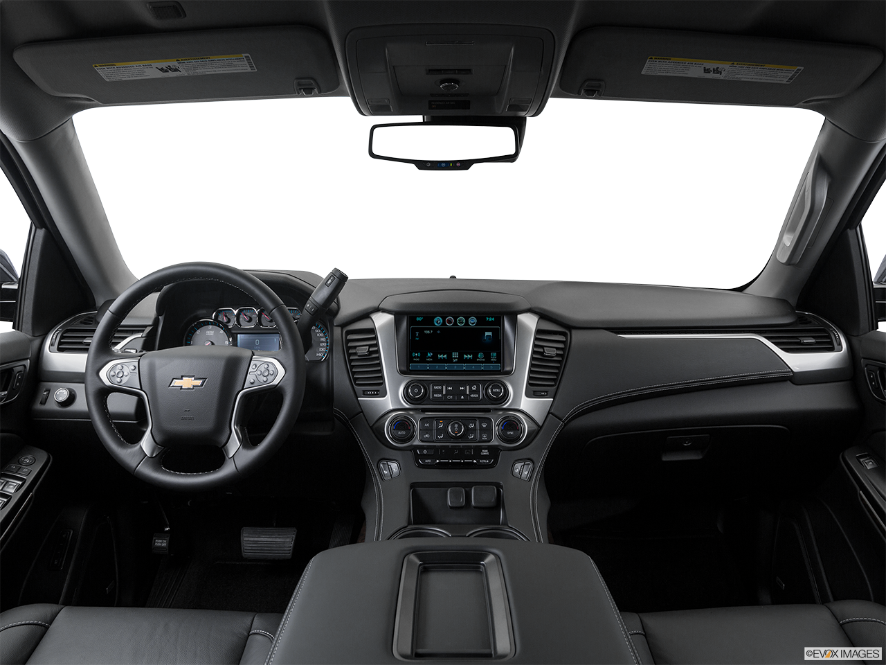 Interior View Of 2016 Chevrolet Tahoe In Roseville