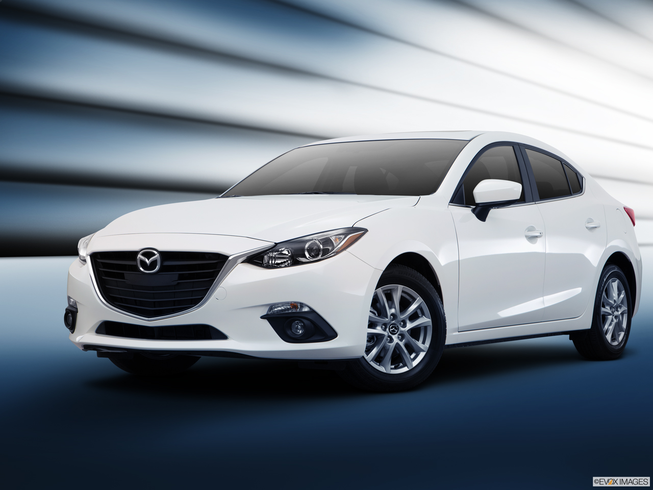Exterior View Of 2016 MAZDA3 5-Door in Los Angeles