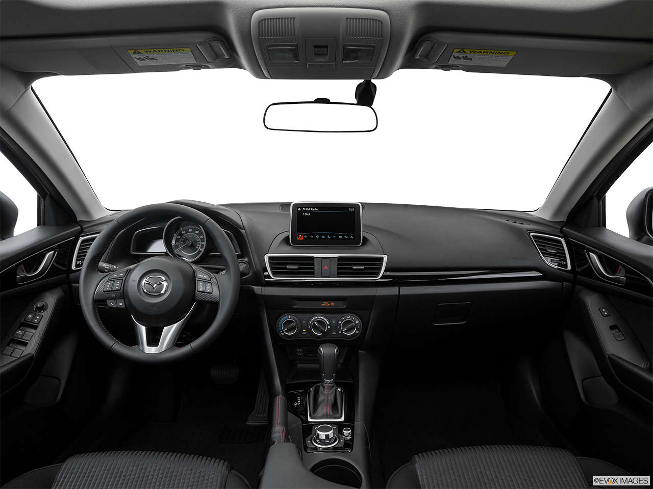 Interior View Of 2016 MAZDA3 5-Door in Los Angeles