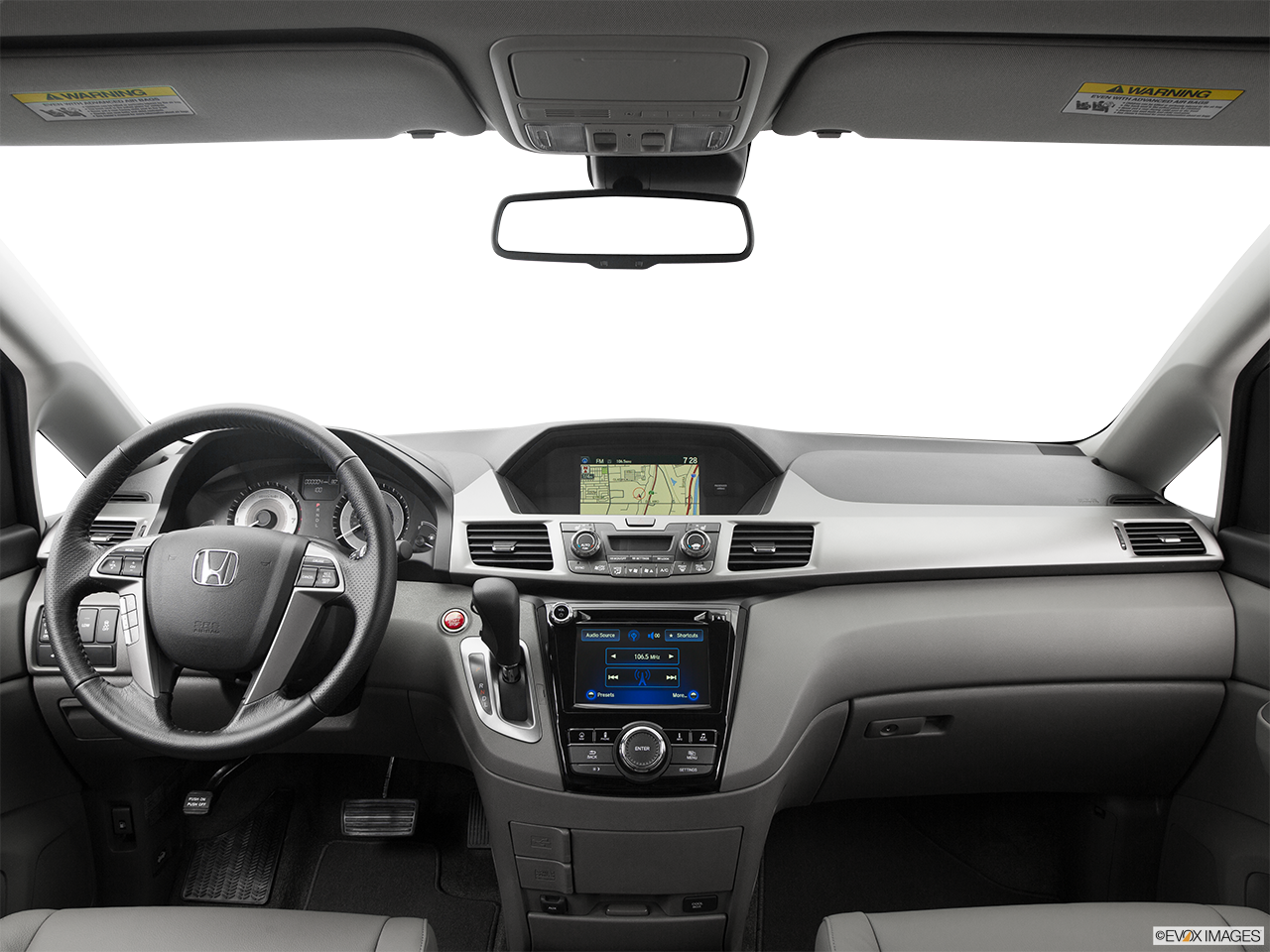 Interior View Of 2016 Honda Odyssey in Los Angeles