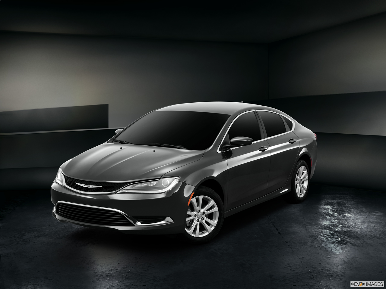 Exterior View Of 2016 Chrysler 200 in Tracy