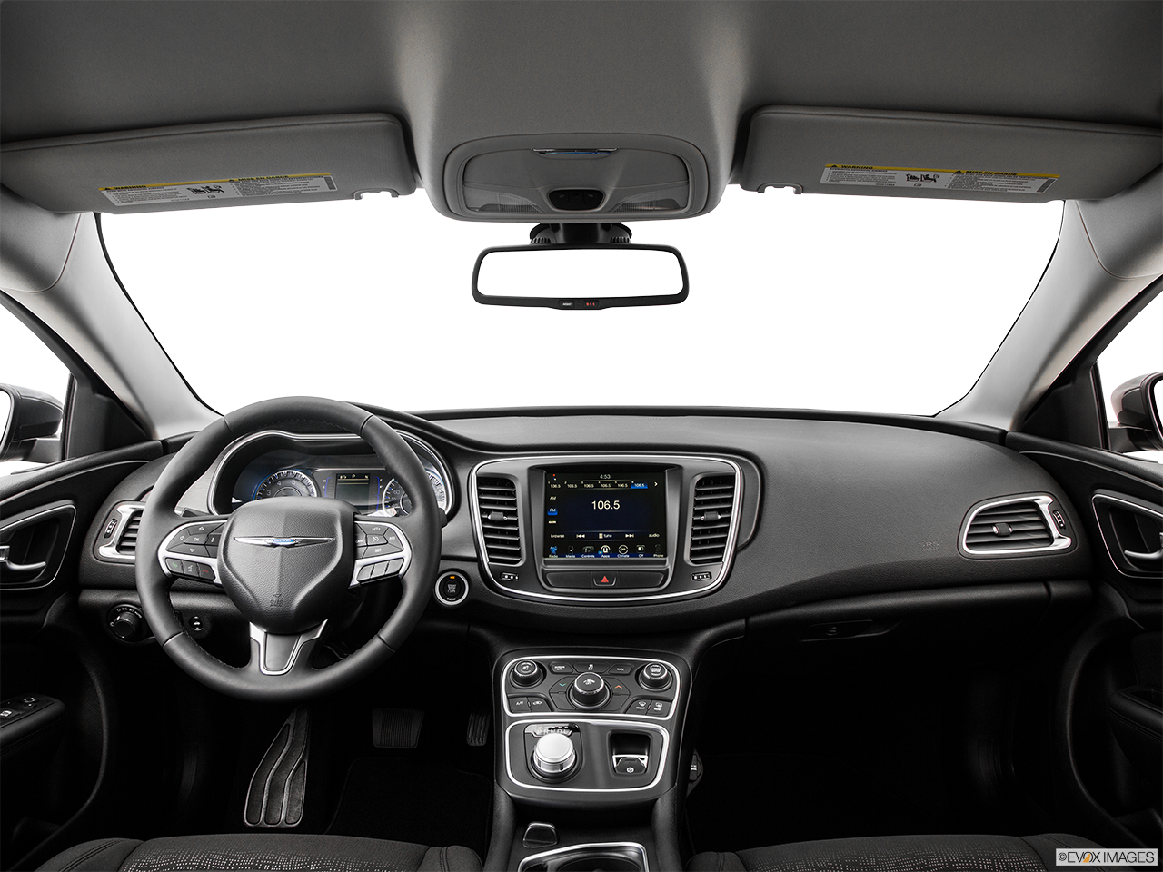 Interior View Of 2016 Chrysler 200 in Antioch