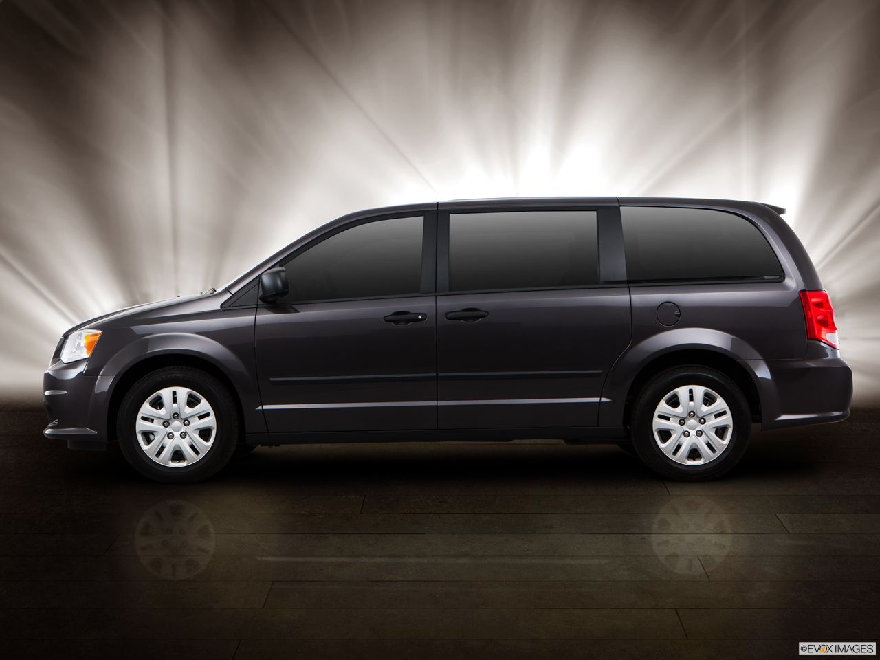 Exterior View Of 2016 Dodge Grand Caravan in Antioch