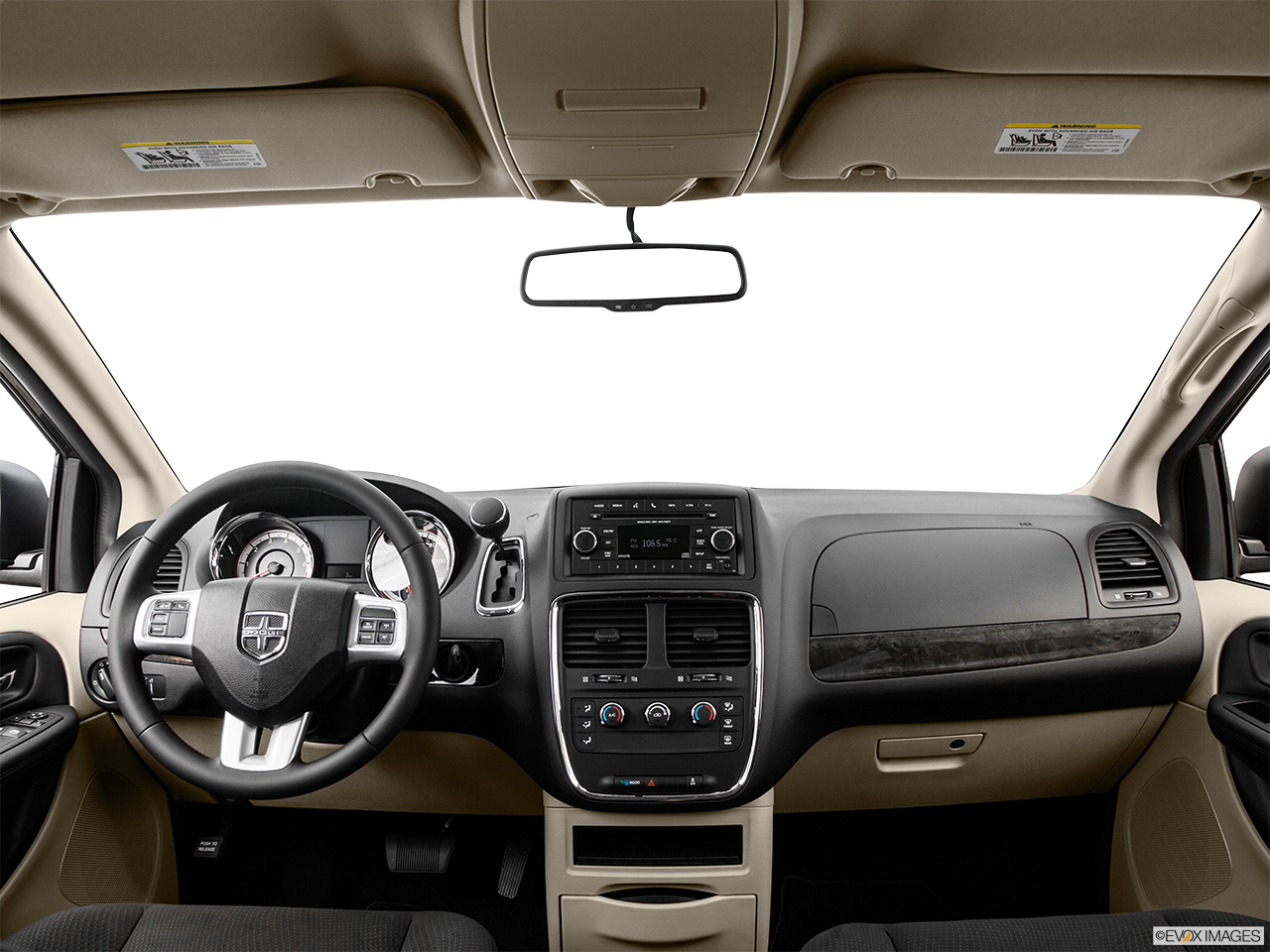Interior View Of 2016 Dodge Grand Caravan in Riverside