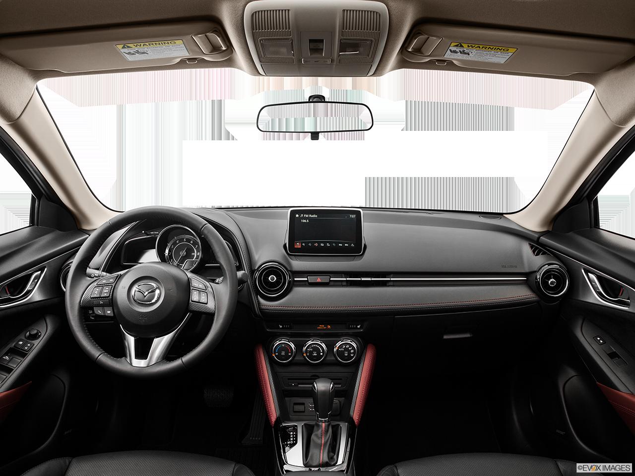 Interior View Of 2016 Mazda CX-3 in Los Angeles