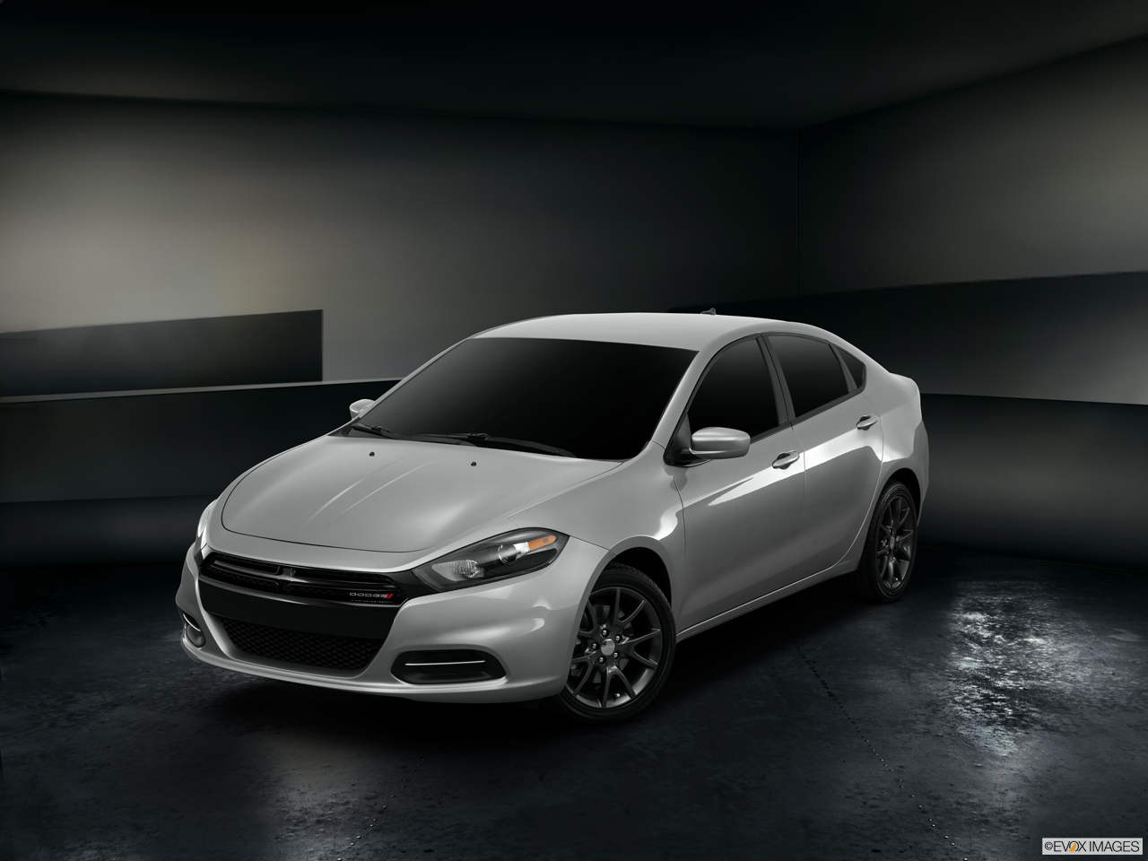 Exterior View Of 2016 Dodge Dart in Yuba City
